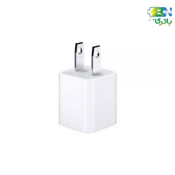 شارژر دیواری 5 وات اپل بدون کابل