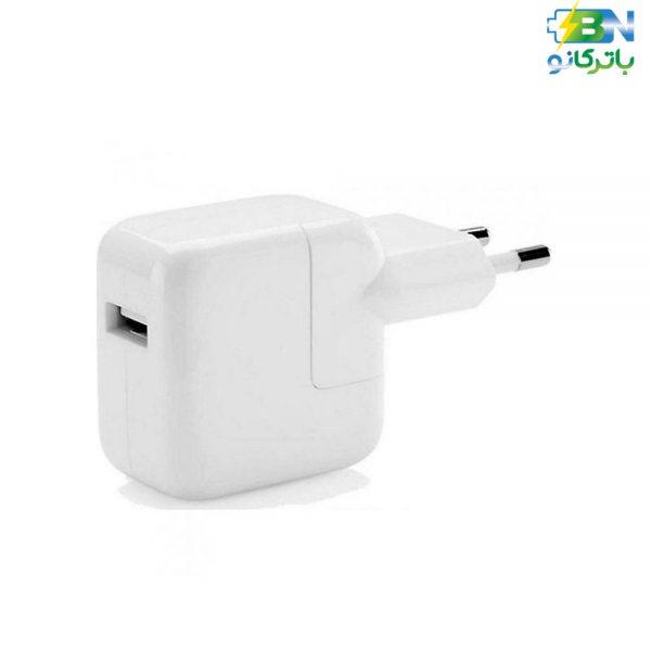 آداپتور برق USB اپل (12w origianl 2pin American) (A1401)