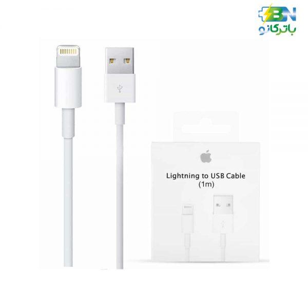 کابل USB به لایتنینگ اپل طول 1 متری