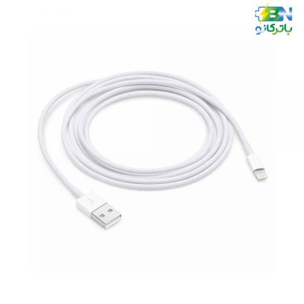 کابل USB به لایتنینگ اپل طول 2 متری Lightning iphone7 orgianl 2M cable A1510